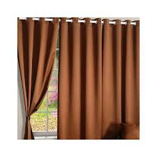 Brown Blackout Curtains Buy Hazel Brown Blackout Curtains Eyelet Curtains Online Swayam