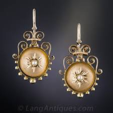 vintage earrings antique vintage earrings vintage diamond earrings lang antiques