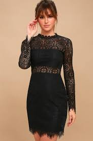 black lace dress black dress black lace dress sleeve lace dress