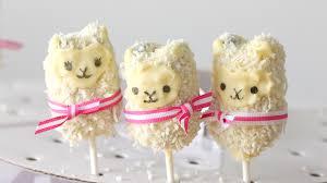 cute llama cake pops recipe tastemade