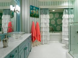 Turquoise Ruffle Curtains Photo Page Hgtv
