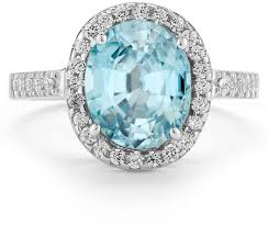 blue topaz engagement rings blue topaz and cocktail ring in 14k white gold