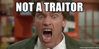 Tumor Meme - not a traitor arnold not a tumor meme generator