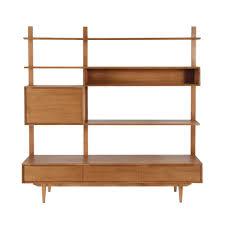 armoire vintage enfant meuble tv étagère vintage en chêne massif portobello maisons du