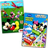 amazon mickey mouse coloring book 4 books assorted