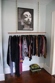 real small space closet solutions how to hang your clothes out in