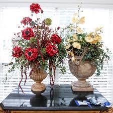 artificial floral arrangements artificial floral arrangements in urns ebth