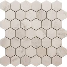 Home Depot Canada Backsplash by Modamo 2 Inch X 2 Inch Hexagon White Marble Polished Mosaic Tile