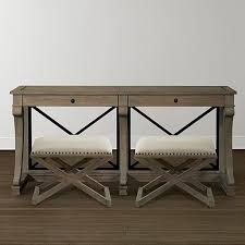 Upholstered Console Table Upholstered Artisan Bench