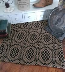 primitive country table runners u0026 penny rugs mats