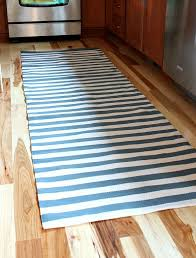 Striped Kitchen Rug Runner A Painter And Dash Albert Rug A Kitchen Update Kitchen Area