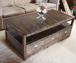 wood coffee table with storage 10 creative diy coffee tables for your home craft coral