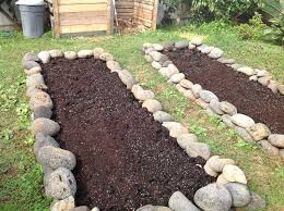 Rock Garden Beds Temperate Climate Permaculture My New Garden Beds