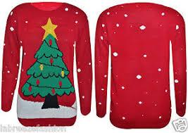 christmas tree jumper with lights mens ladies tree jumper with flash light christmas jumper novelty