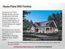 fantastic house plans with porches