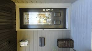 Exterior Door Window Inserts Naples Glass Insert By Masonite Commercial Brown Coloured Single