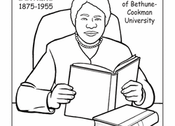 Meet Mary Mcleod Bethune Worksheet Education Com Eleanor Roosevelt Coloring Pages