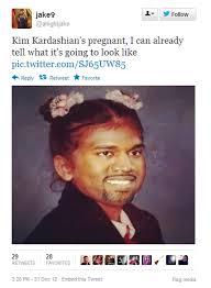 Kim Kardashian Pregnant Meme - kanye west kim kardashian baby z6mag
