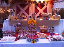 Western Theme Party Decorations Western Theme Candy Table Cake Pops Pinterest Western Theme