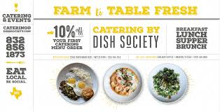 dish society farm to table restaurant houston u0026 katy