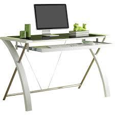 Futuristic Computer Desk Furniture Cool Whalen Desk With A Simple Profile And Generous
