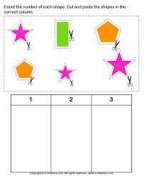 cut and paste activities for kindergarten art and craft