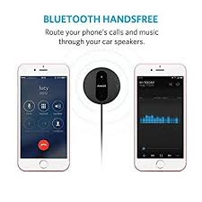 Portable Aux Port For Car Amazon Com Anker Soundsync Drive Bluetooth 4 0 Car Receiver