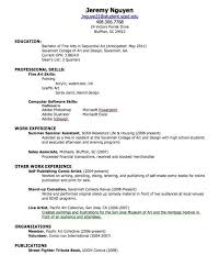 resume for high students with volunteer experience resume for high graduate with no experience best resume