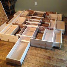 Build Platform Bed Frame Storage 25 best storage beds ideas on pinterest diy storage bed beds