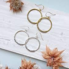feminist earrings feminist hoop earrings daniell hudson