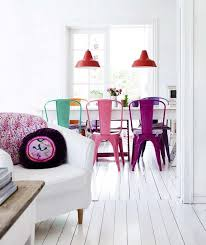 Tolix Dining Chairs 15 Colorful Tolix Chairs Under 200