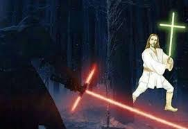 May The Force Be With You Meme - may the force be with you and also you star wars 7 lightsaber