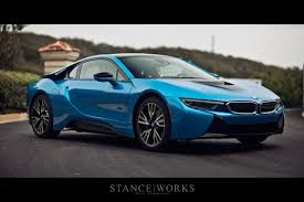 Bmw I8 360 View - car picker blue bmw i8