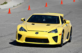 lexus yellow what the f lexus proves it has some sport potential complex