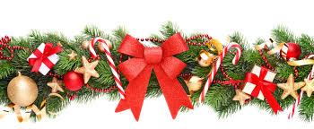 christmas garland christmas garland border transparent happy holidays