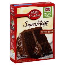 Betty Crocker Halloween Cake Betty Crocker Super Moist Cake Mix Devil U0027s Food 18 25 Oz 1 Lb
