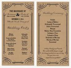wedding ceremony program card this shop has tons of great