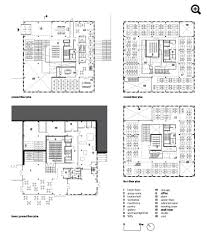 architectural floor plan school of architecture umeå sweden henning larsen architects