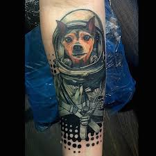 to infinity and beyond spacemonkey nyc tattoo dog in
