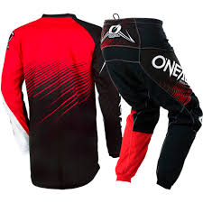 kid motocross gear new oneal 2018 youth mx element black red jersey pants kids