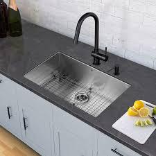 matte black kitchen faucet multipurpose franke primo x graphite granite shop kitchen sinks at
