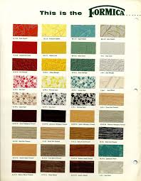 1953 formica sunrise collection brochure 1950s mid century and