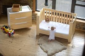 How To Convert Crib Into Toddler Bed Alma Max Toddler Rail Bloom