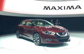 nissan maxima drag race 2016 nissan maxima debuts in new york will start at 32 410