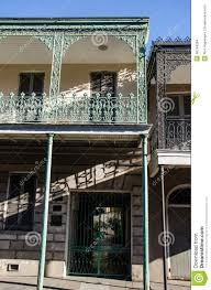 New Orleans French Quarter Map New Orleans French Quarter Map Editorial Stock Image Image