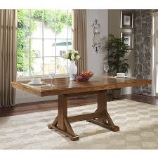 Large Wood Dining Room Table Amazon Com We Furniture 77