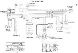 honda ct70 wiring diagram honda wiring diagrams instruction