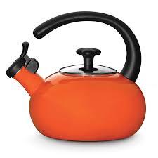 Orange Kitchen Accessories by Amazon Com Rachael Ray Teakettles 1 1 2 Quart Whistling Orange