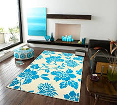 5x8 Kitchen Rugs Modern Blue Area Rugs Leaf Style Office Rugs 5x8