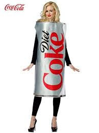 Food Themed Halloween Costumes Diet Coke Food Halloween Costumes 35 Popsugar Food